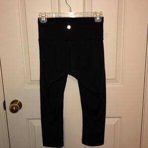 Lulu lemon black yoga pants